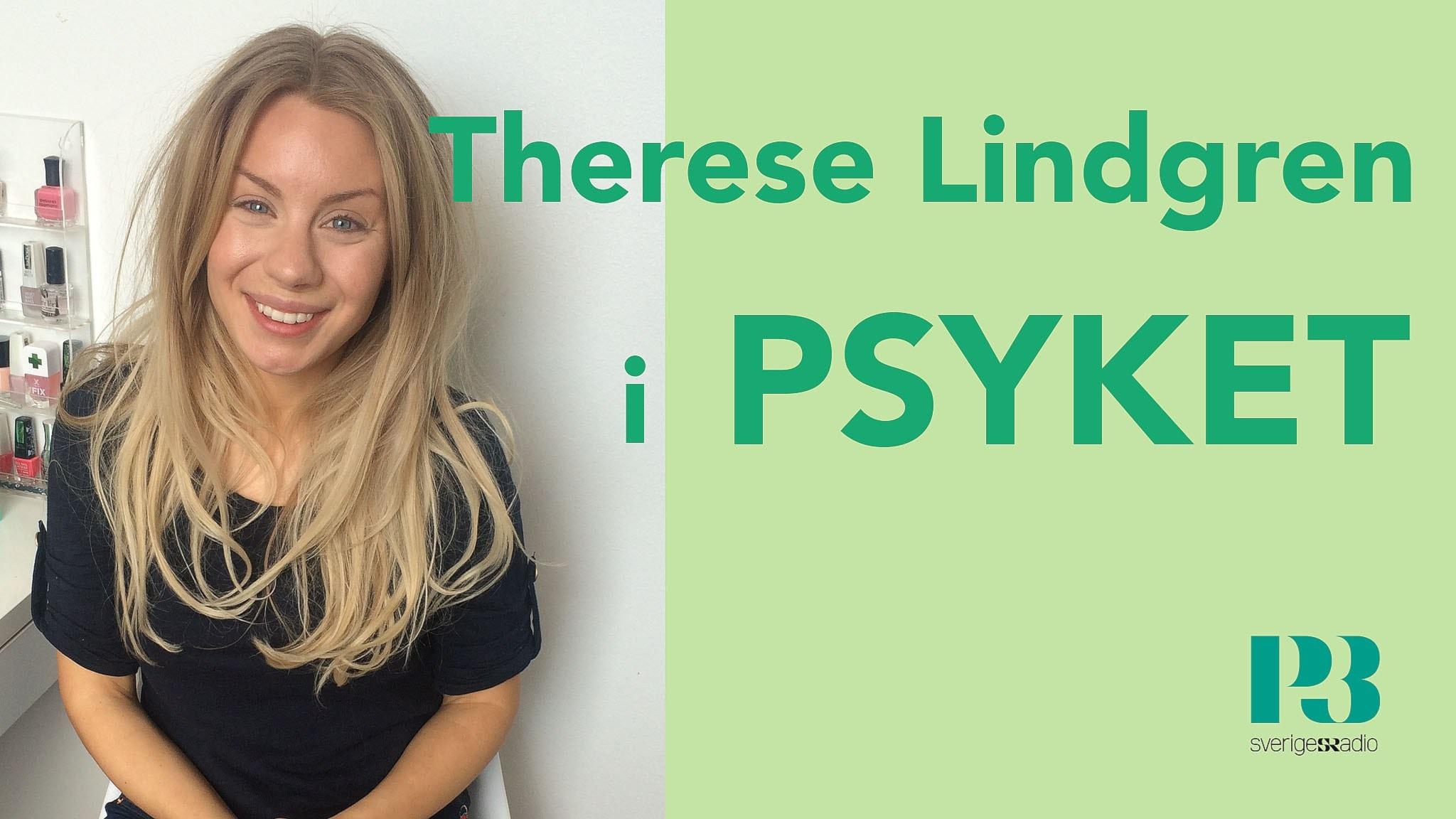 Therese Lindgren: Jag tvingar mig själv att gå utanför lägenheten