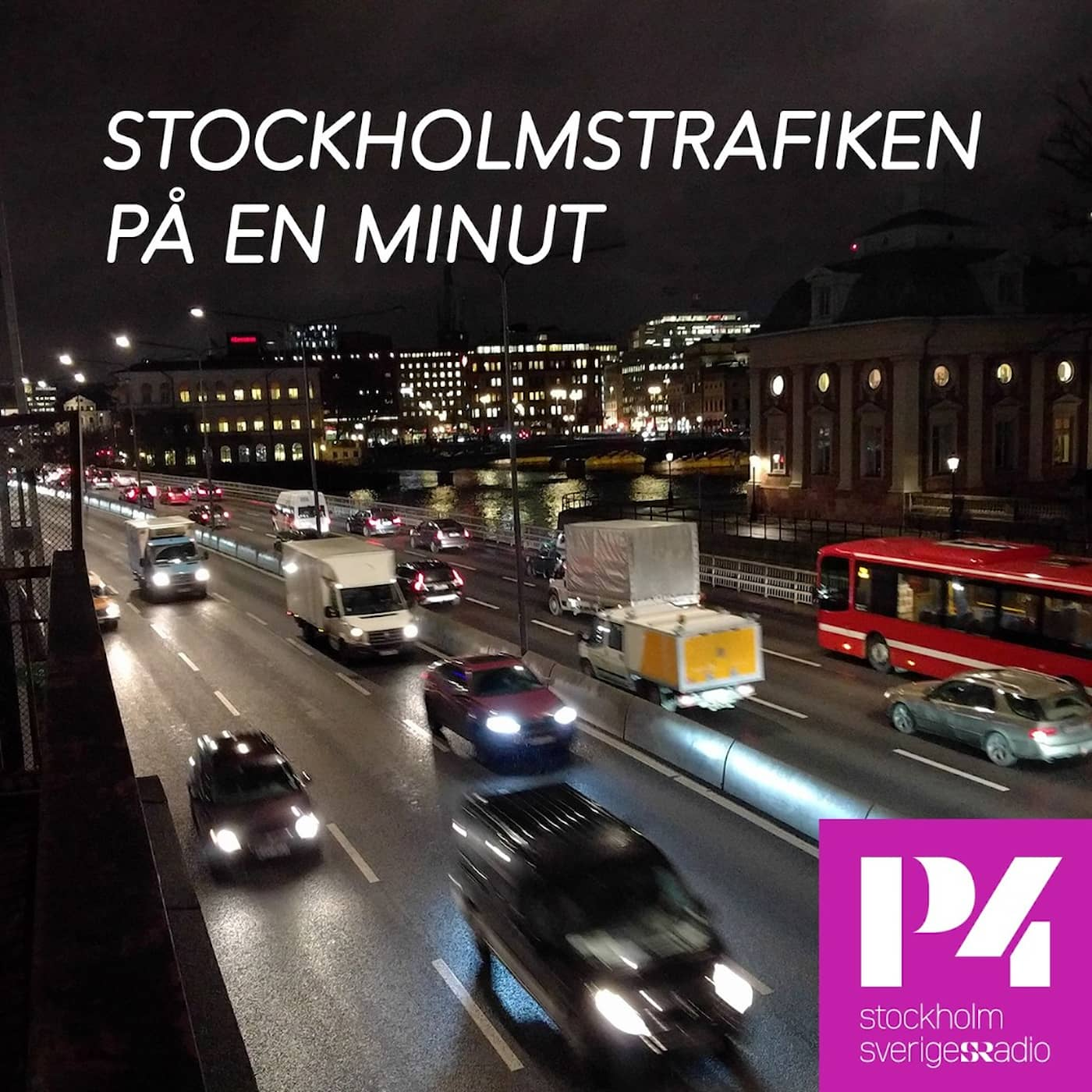 Stockholmstrafiken på en minut