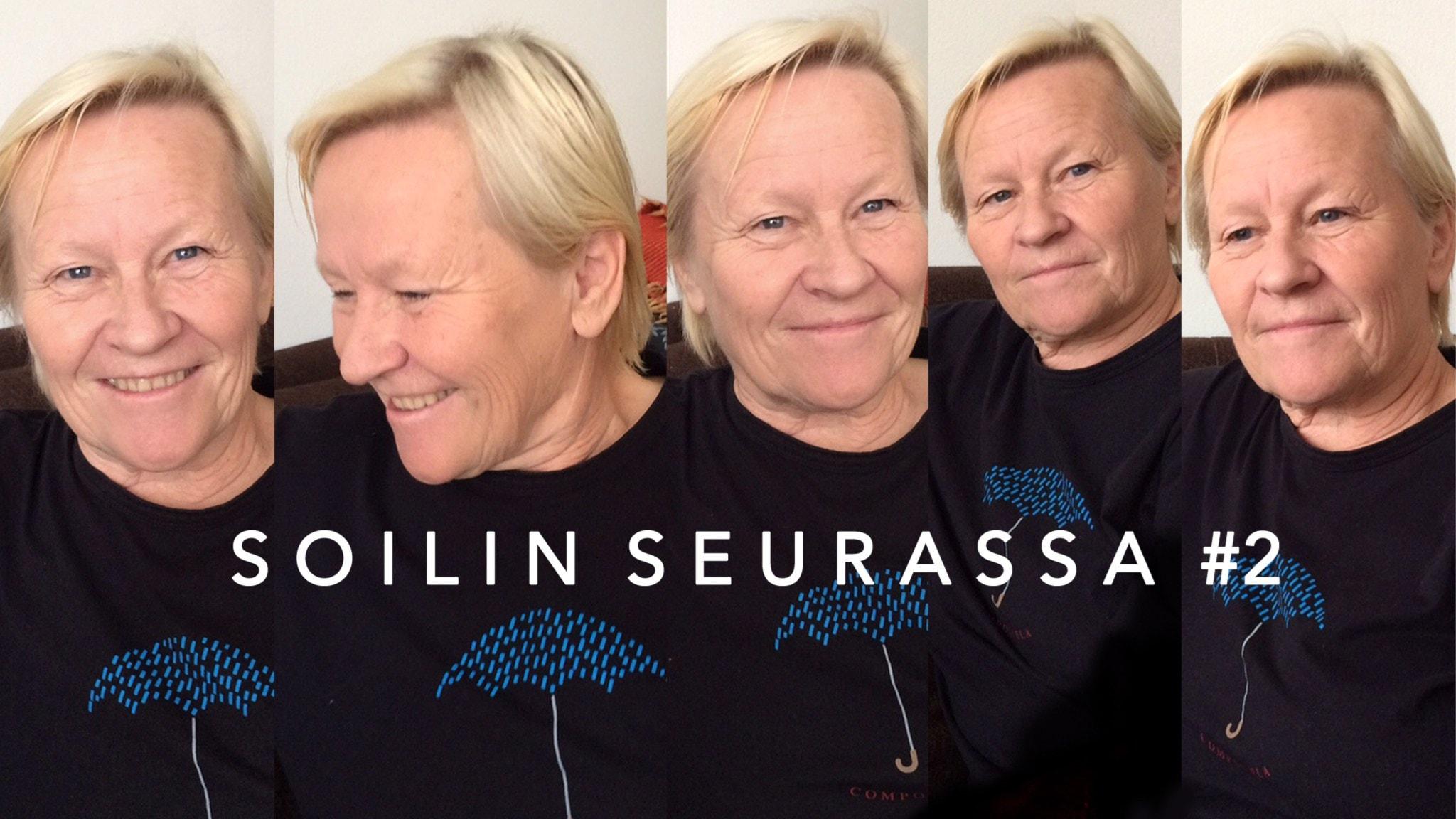 Soilin seurassa intohimoinen kirjojen ystävä Mirja Huusko