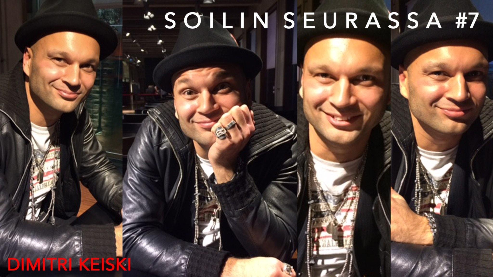Soilin seurassa Dimitri Keiski - Märstasta kotoisin oleva rockmuusikko ja laulaja, joka valloittaa Suomea suurissa musikaalirooleissa