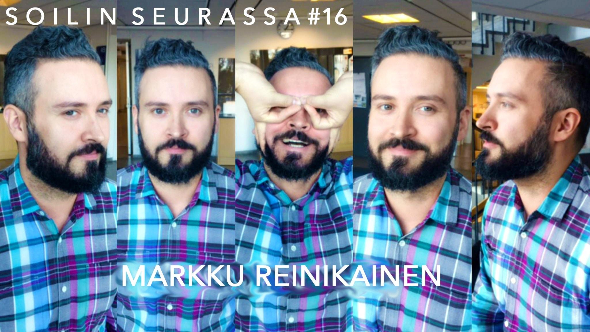 Soilin seurassa rumpali Markku Reinikainen: Ruotsi on pop, Suomi rock.