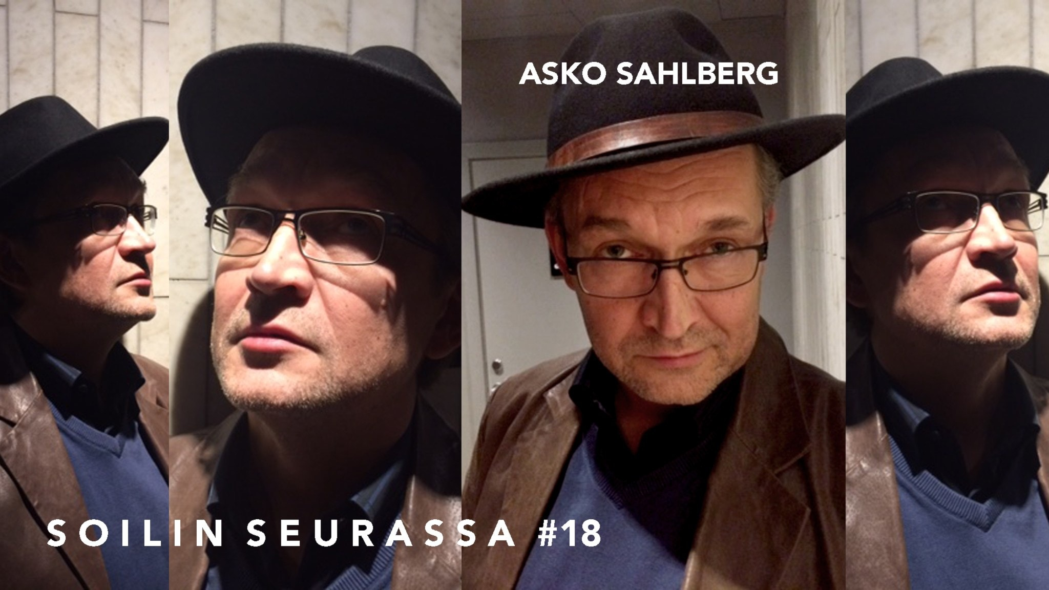 Soilin seurassa kirjailija, Runeberg-palkintoehdokas Asko Sahlberg