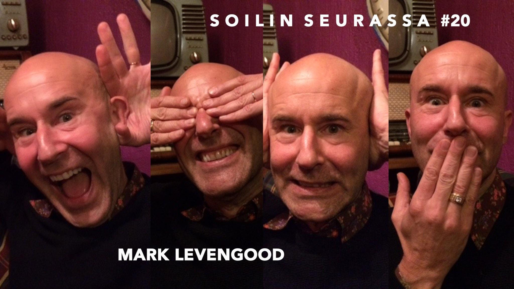 Soilin seurassa Mark Levengood - kirjailija, tv-profiili, Unicef-lähettiläs, ja ehdottomasti yksi Ruotsin tunnetuimmista suomalaisista