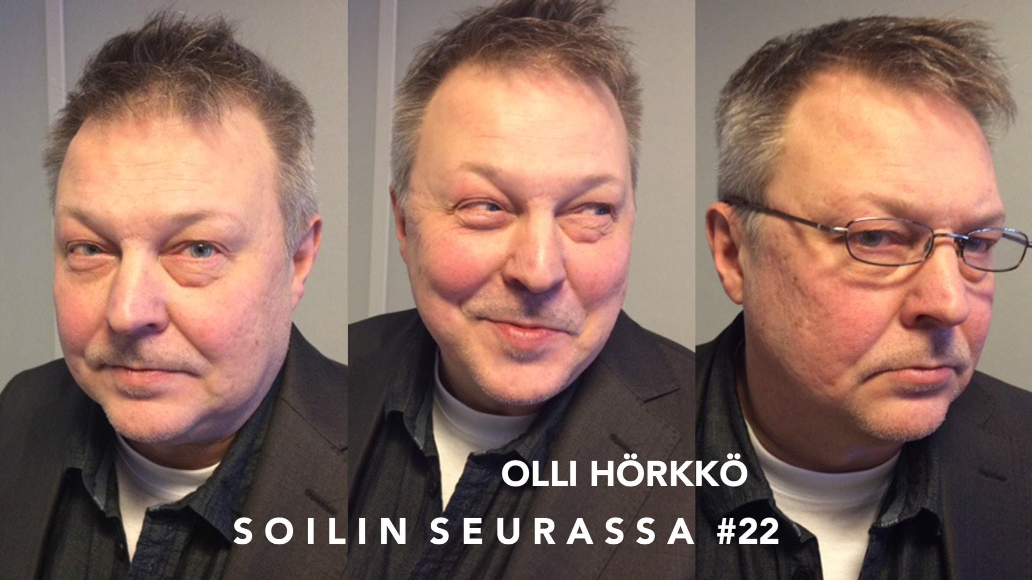 Soilin seurassa tv:stä tuttu uutisankkuri Olli Hörkkö