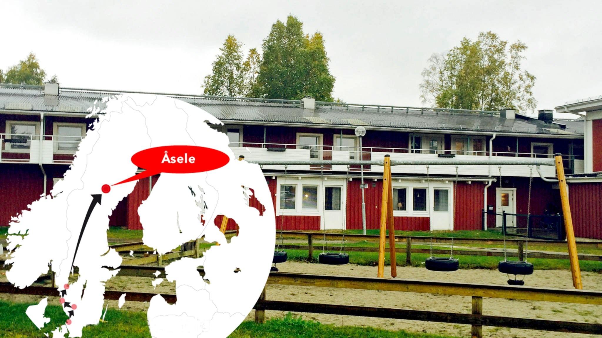 Åsele: Flyktingbarn möter svensk glesbygd