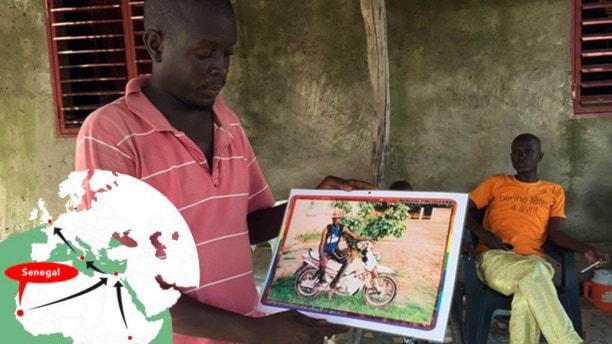 Tambacounda: Han miste sin bror då 800 dog på Medelhavet