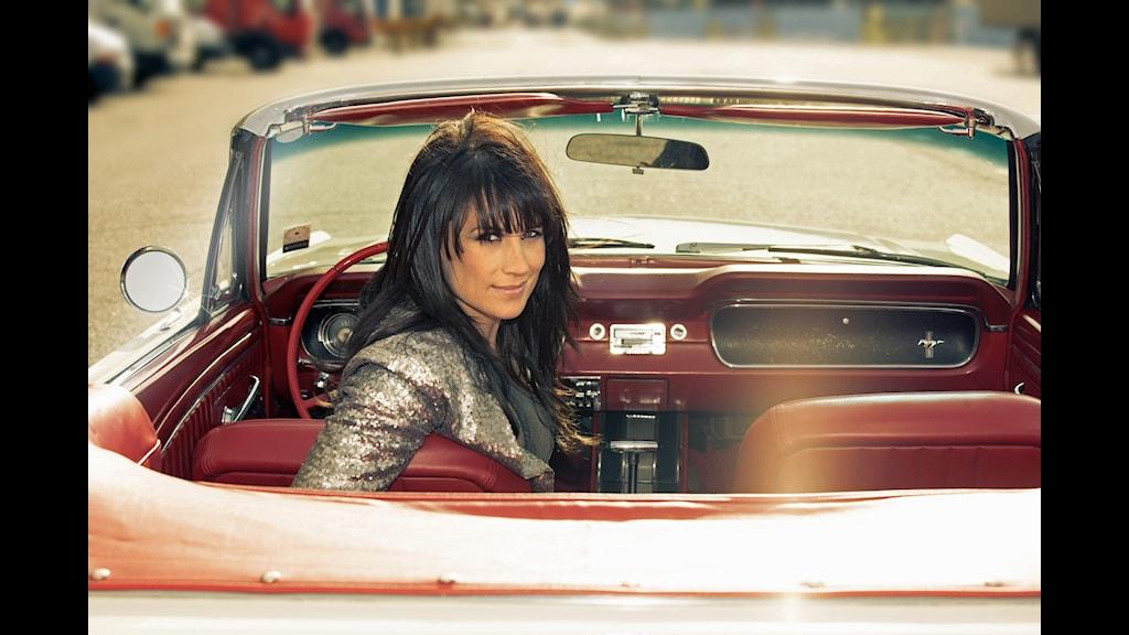 Jill Johnson medverkar i Allsång från Gränna Hamn