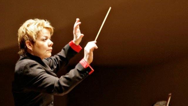 Orkesterdirigenten Marin Alsop - en av världens främsta