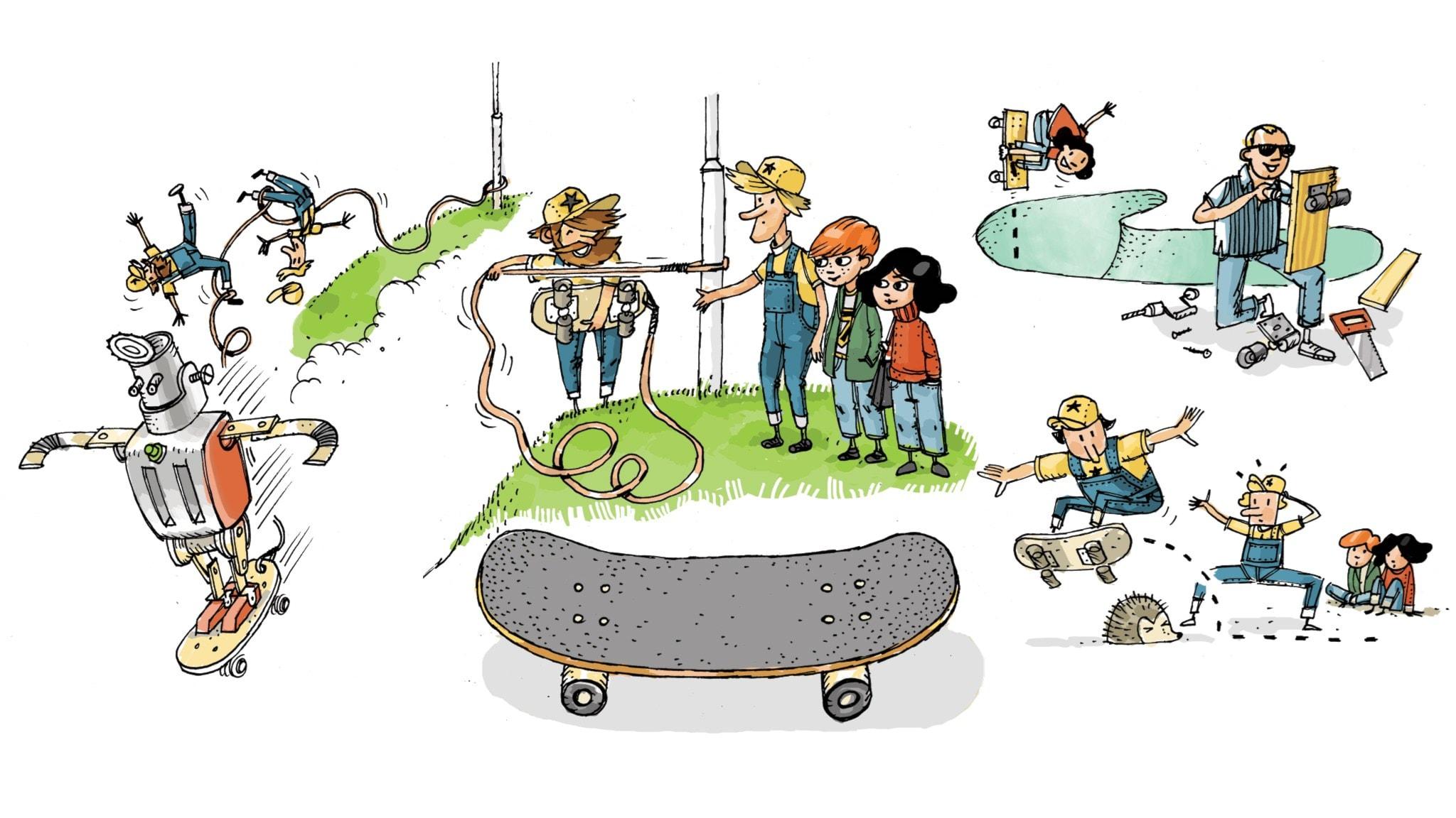 Uppfinnarklubben: Skateboarden