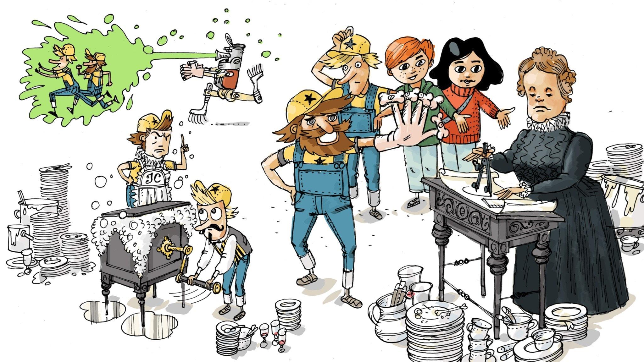 Uppfinnarklubben: Diskmaskinen