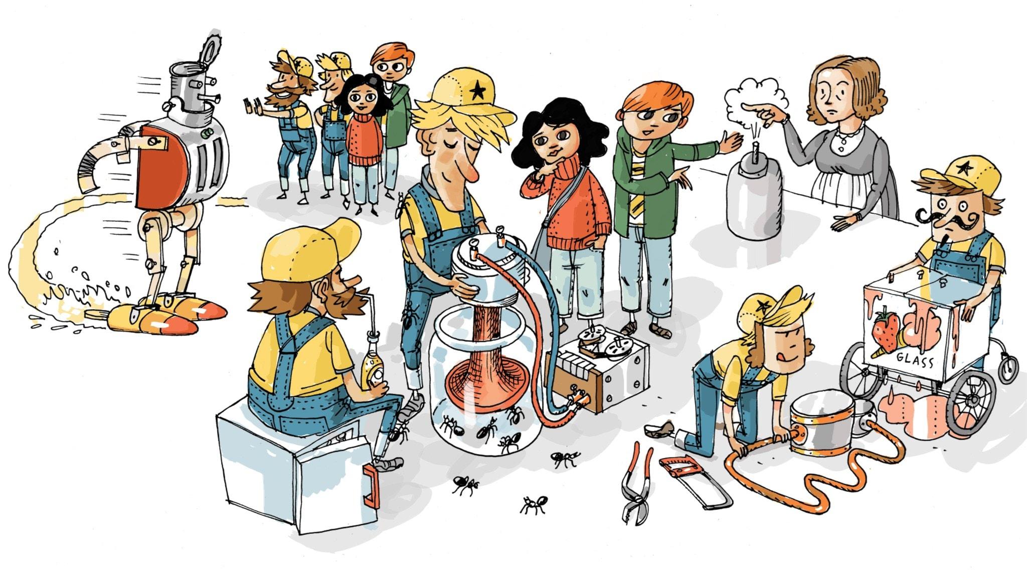 Uppfinnarklubben: Kylskåpet
