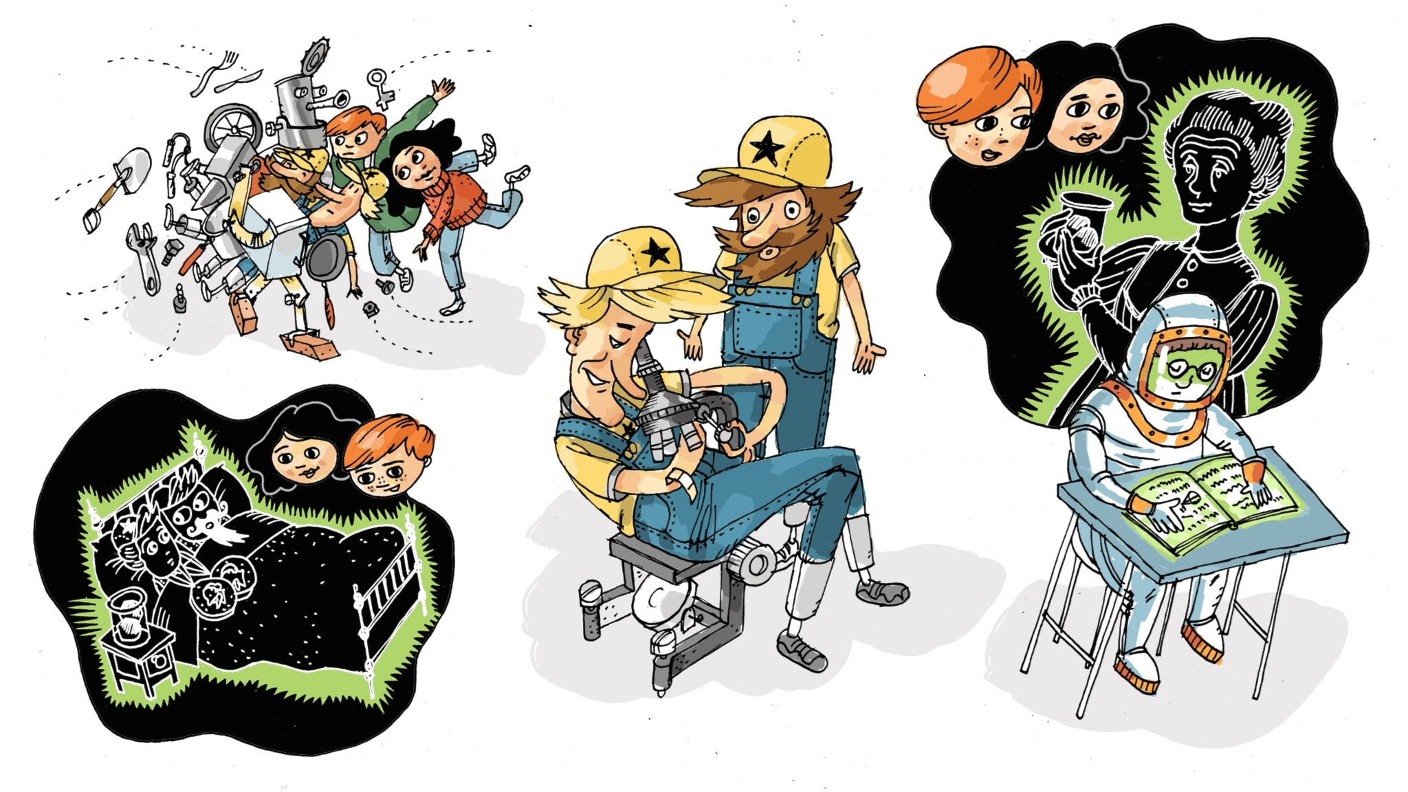 Uppfinnarklubben: Radioaktivitet