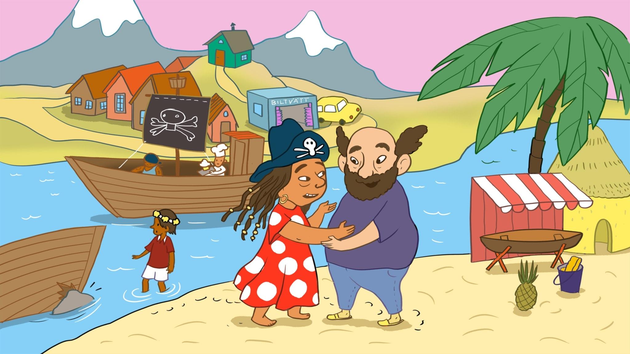 Sagan om Tvätt-Olsson och piraterna