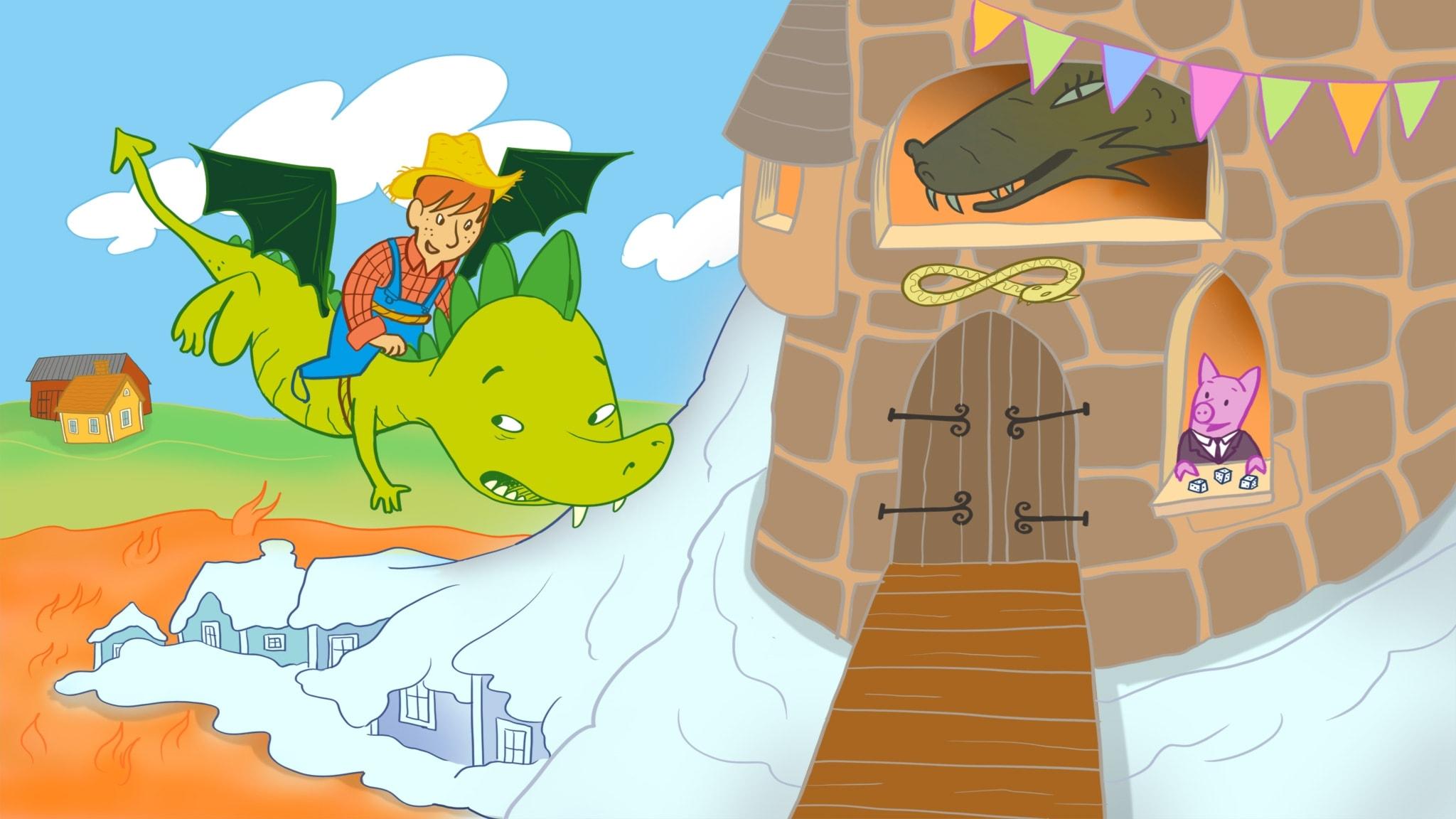 Smarre far till drakarnas land