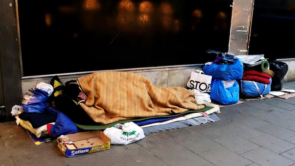 hemlösa i sverige
