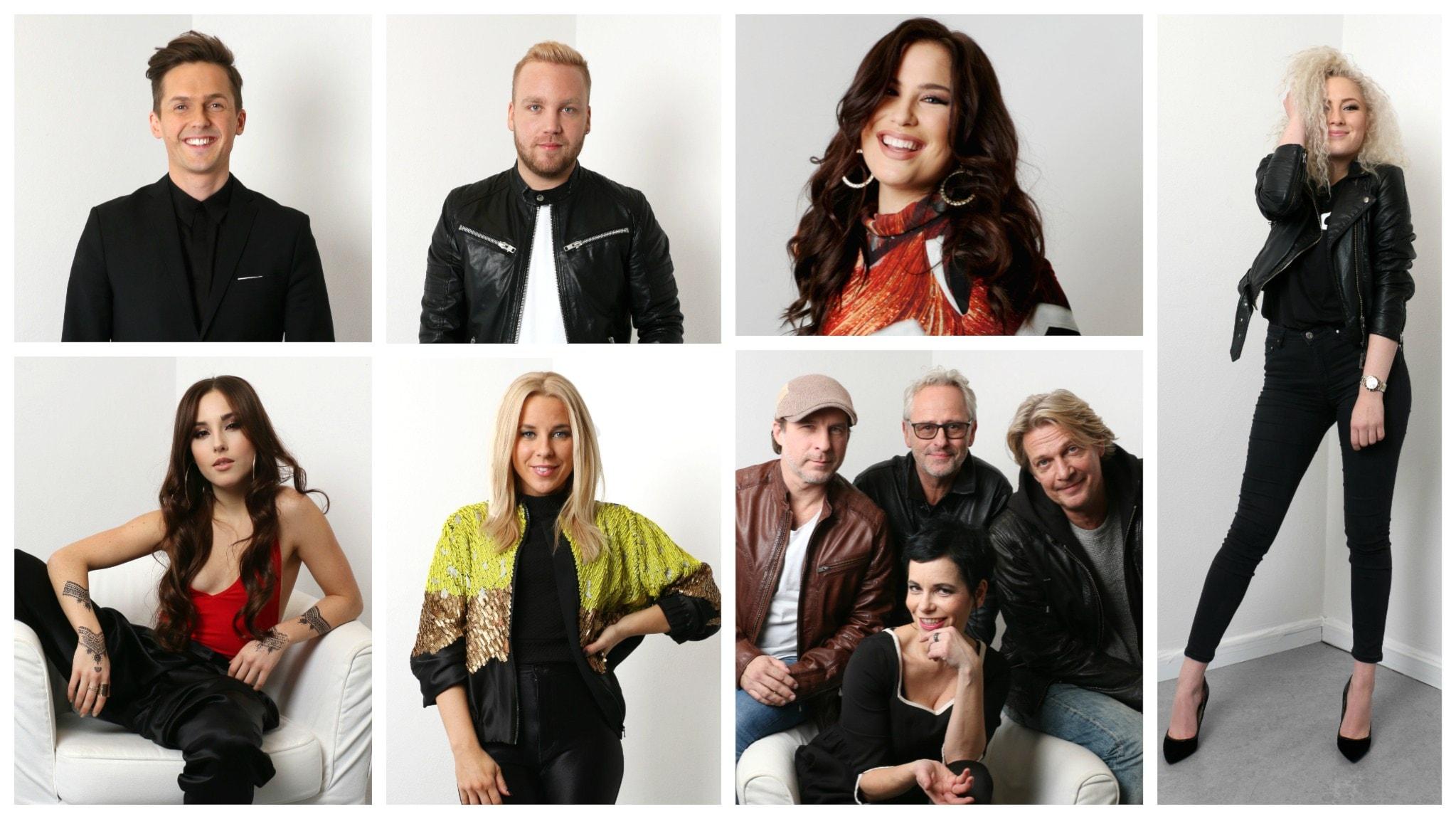 Melodifestivalen Deltävling 2 - direkt från Malmö