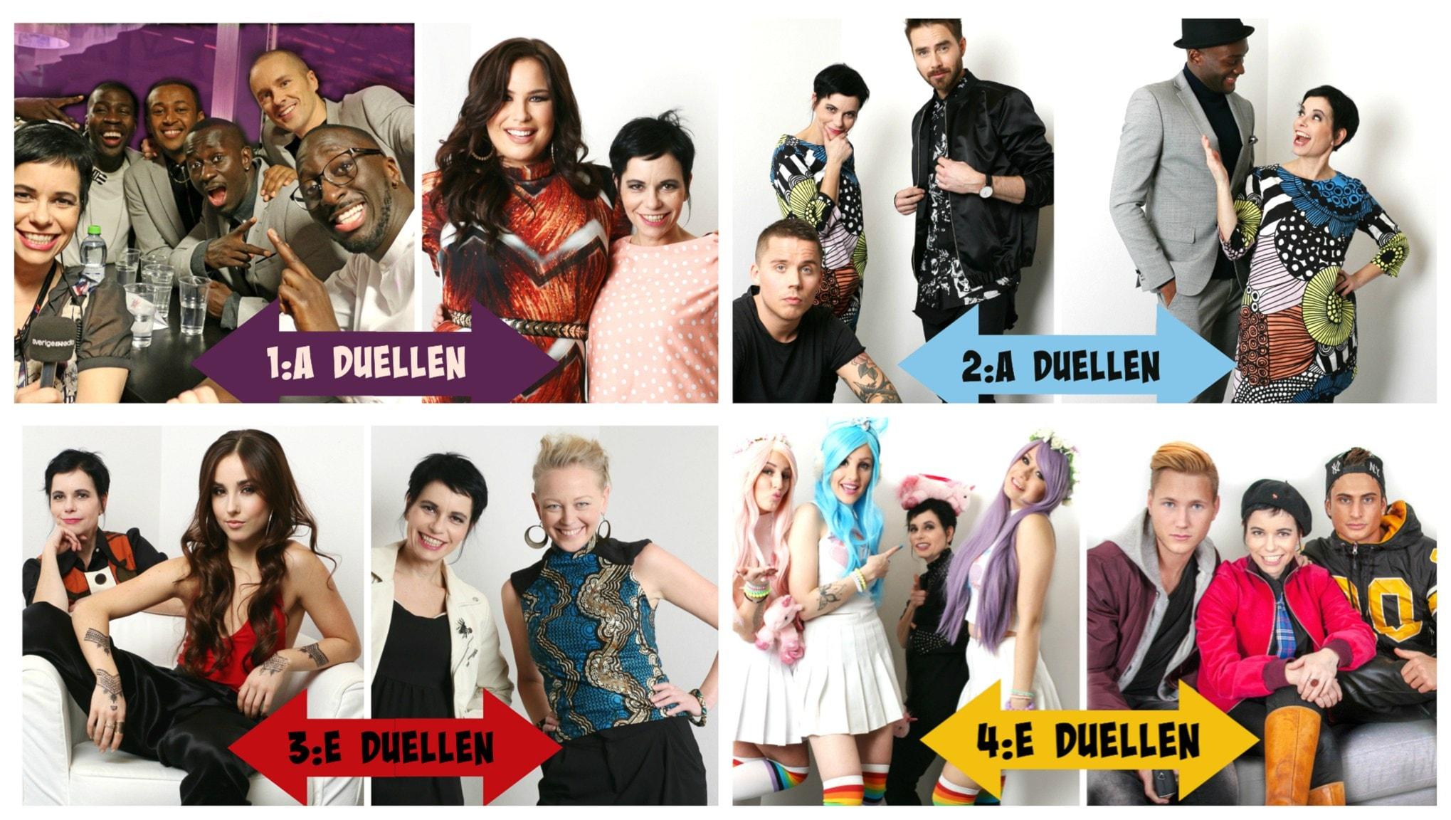 Andra Chansen i Melodifestivalen direkt från Halmstad