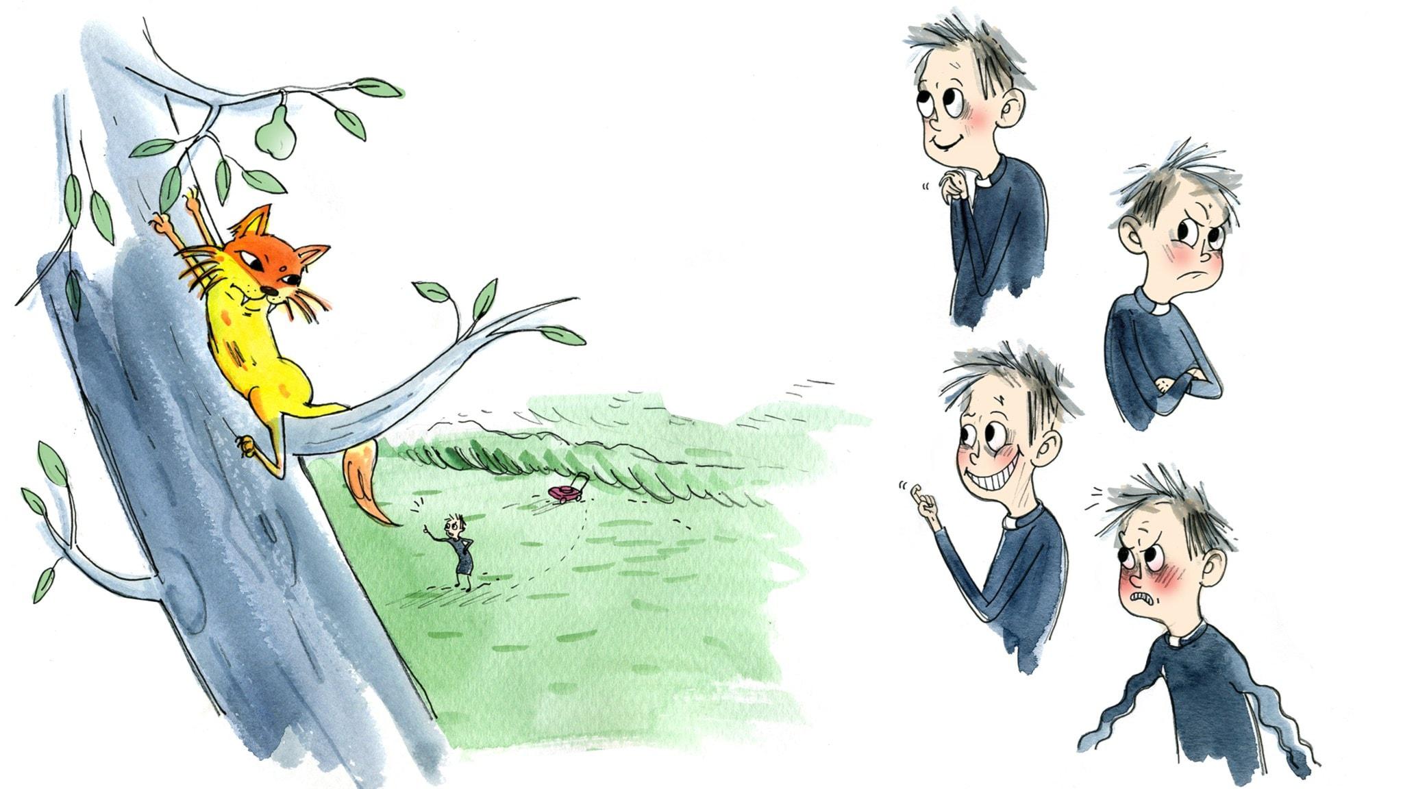 Mördarkatten del 4: Fast i trädet