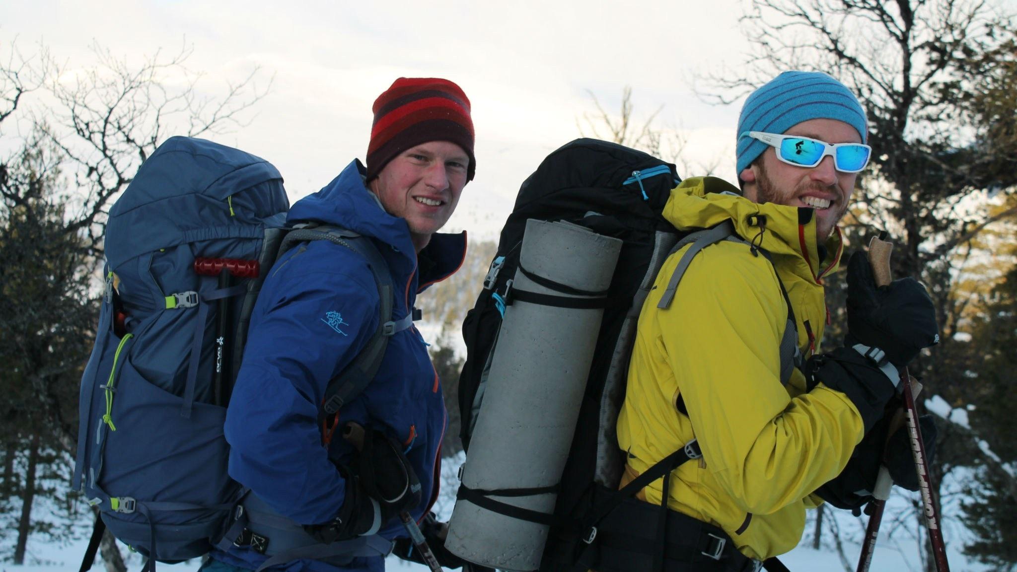 Att åka skidor i fem månader och överlevnadsexperten om oväntad övernattning utomhus