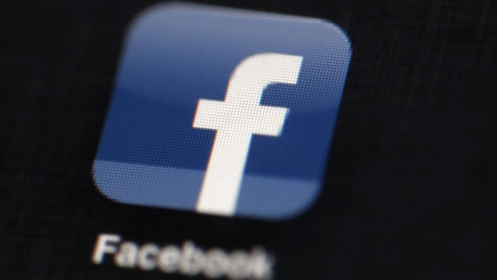 Så här ser Facebooks symbol ut. Foto: AP