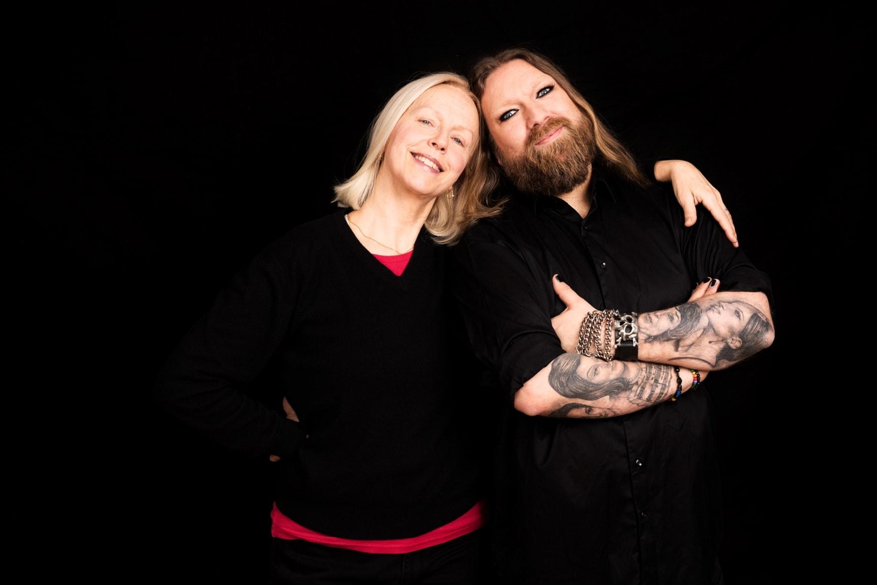 Kvinnor som gestaltar män med gäst Anne Sofie von Otter