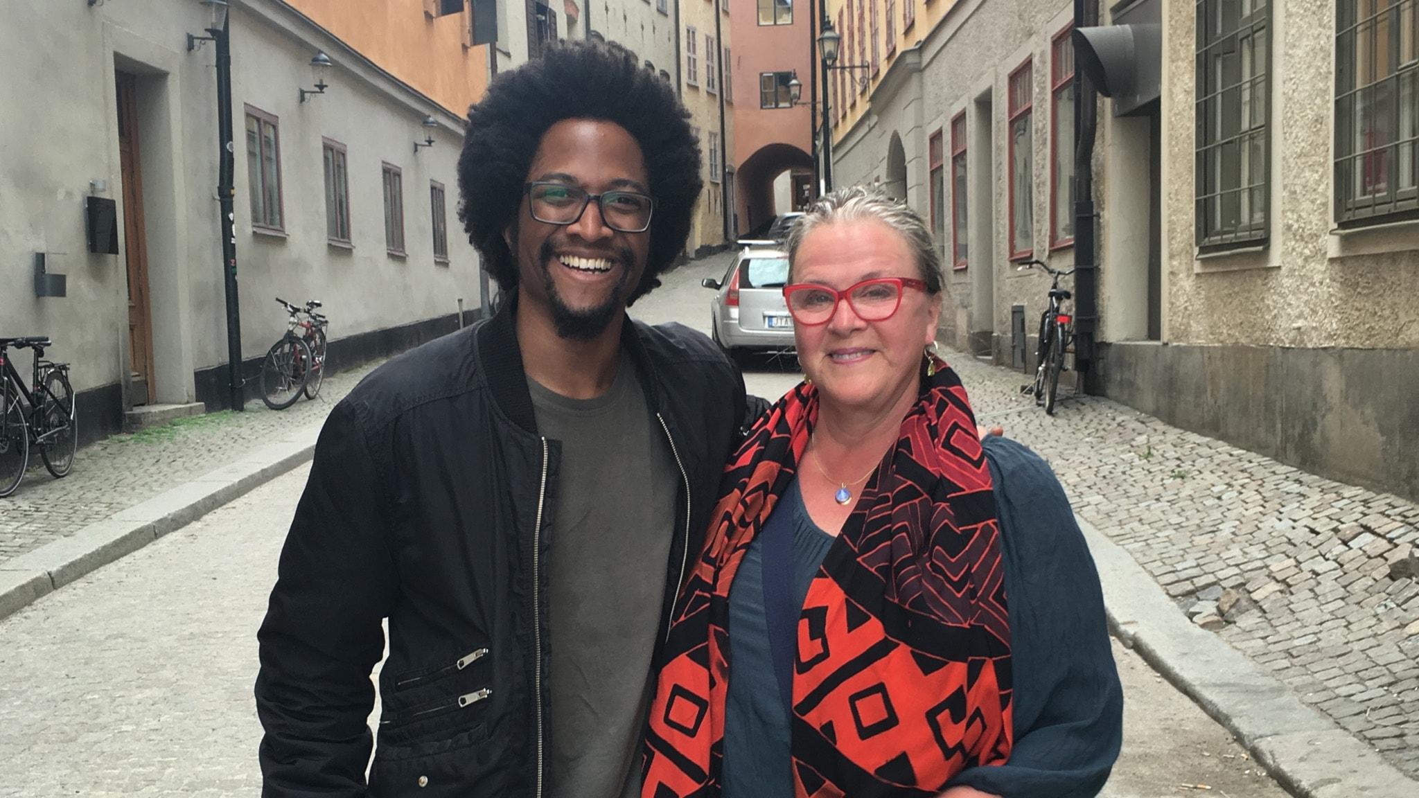 Stjärnorna bakom stjärnorna – Rijal Mbamba möter Py Bäckman