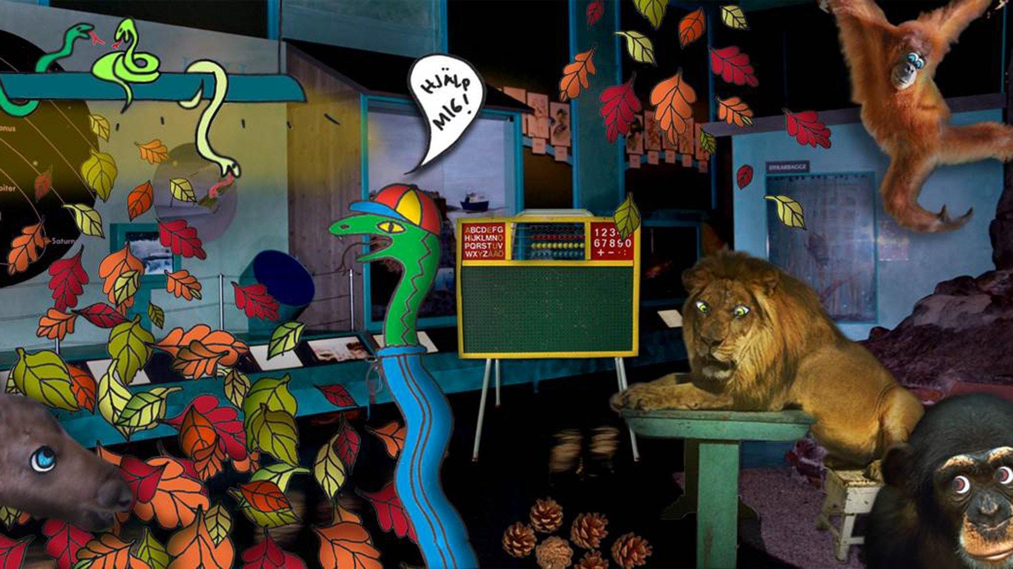Del 3: Djuren går i skolan