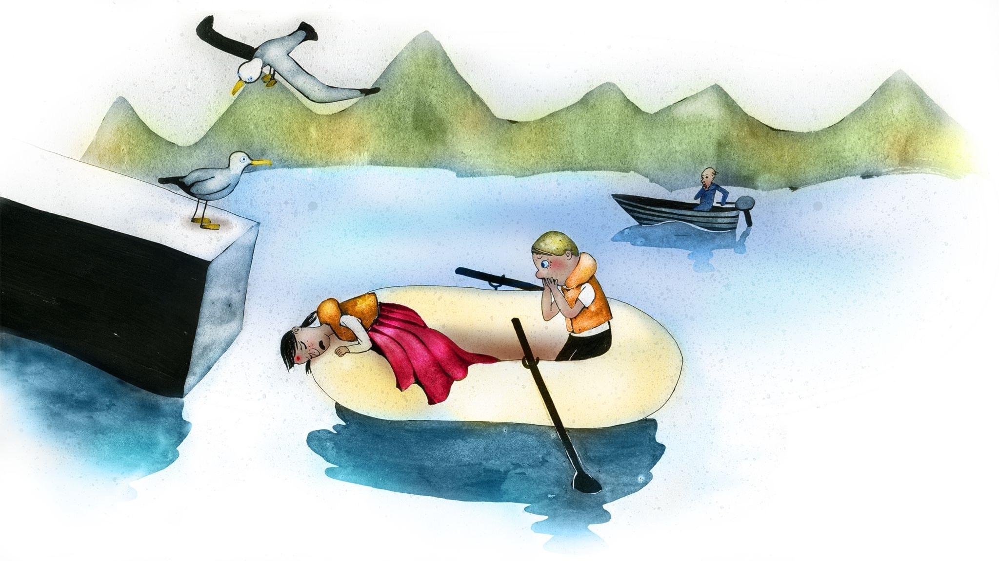 Del 10: Sjörövarblod i ådrorna