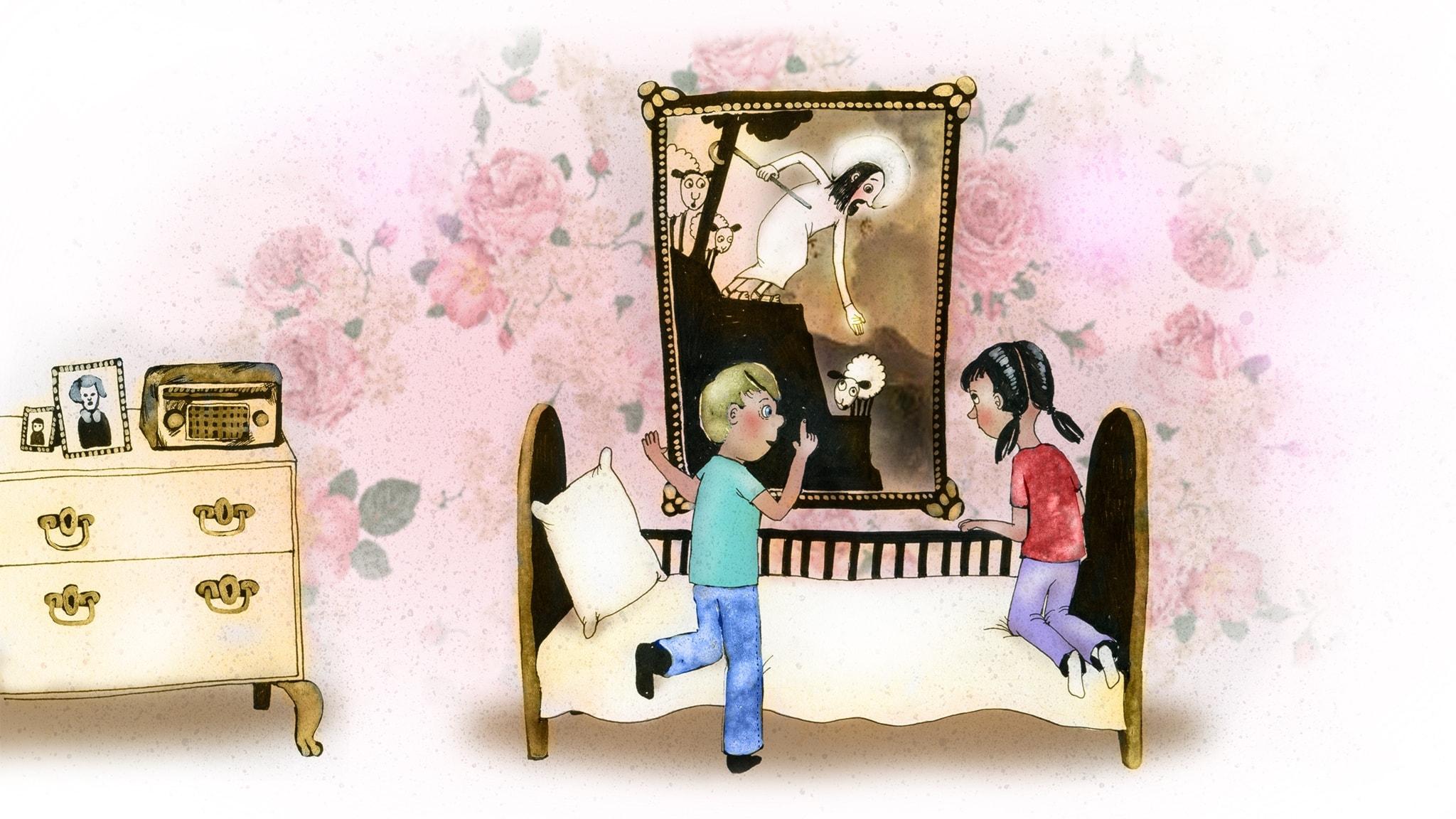 Del 11: Tavlan över sängen