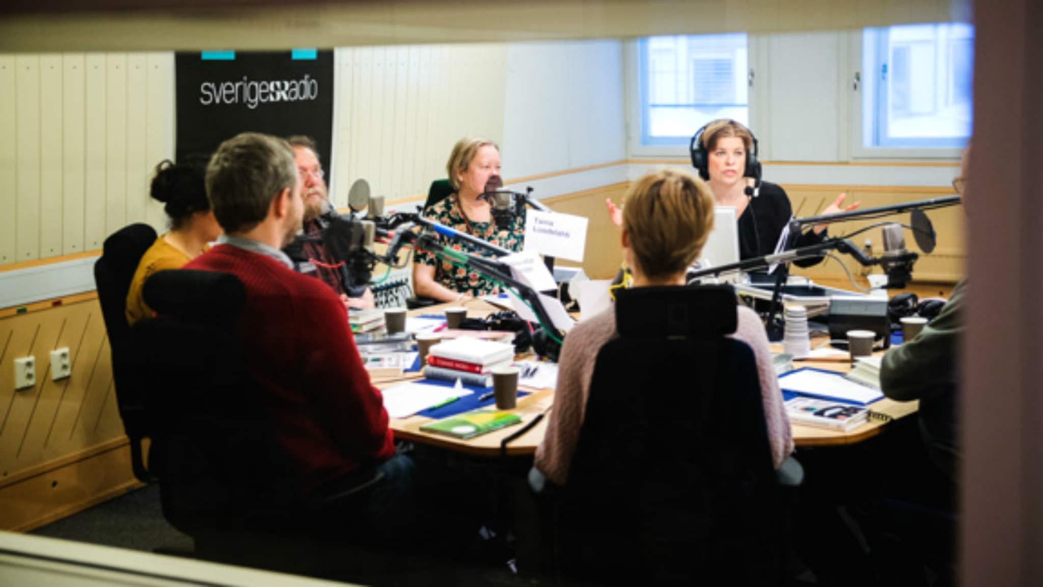 Lyssnarjuryn diskuterar finalisterna