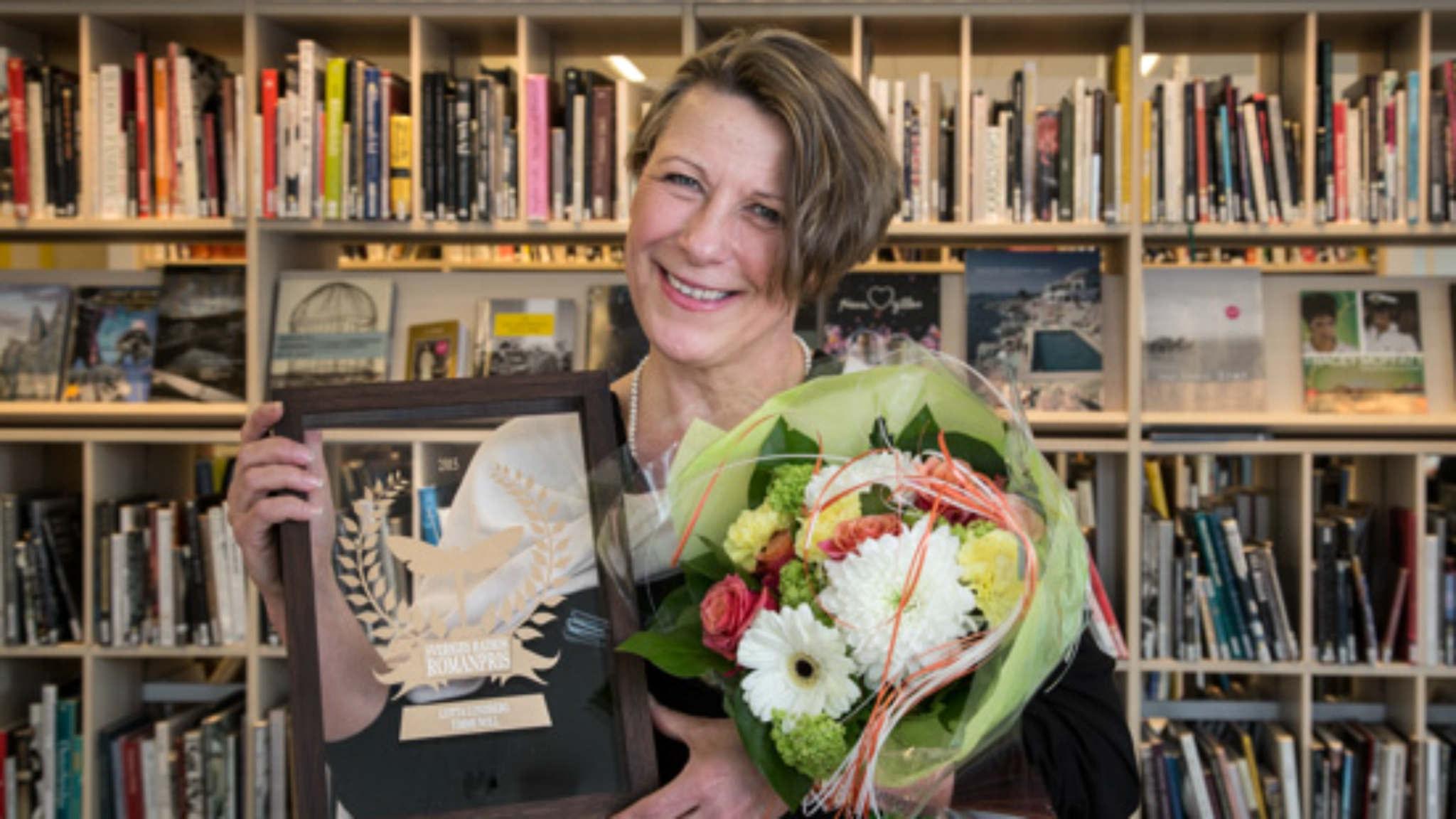 Lotta Lundberg är vinnare av Sveriges Radios Romanpris 2015