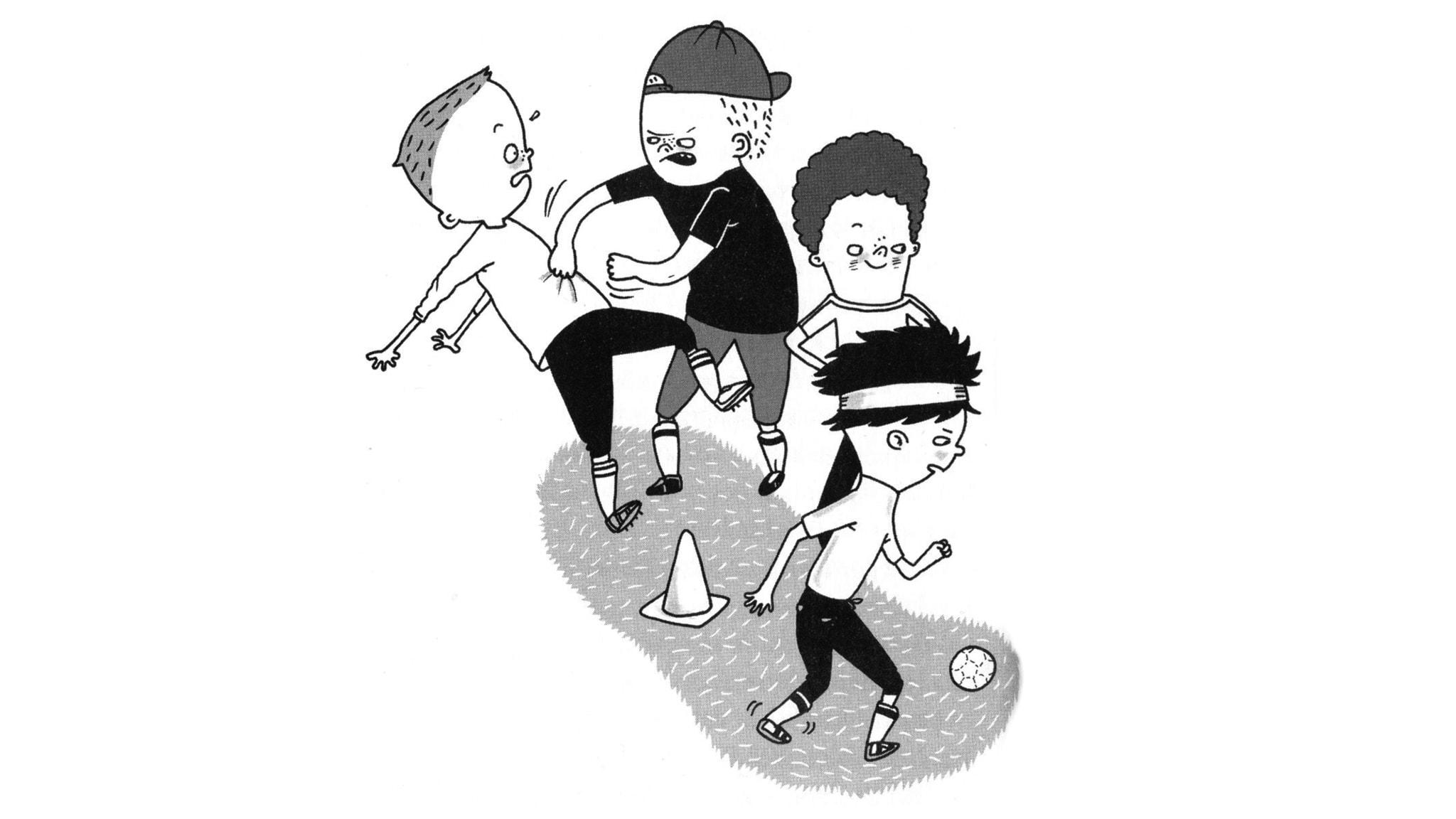 Del 4: Bråk på fotbollsträningen