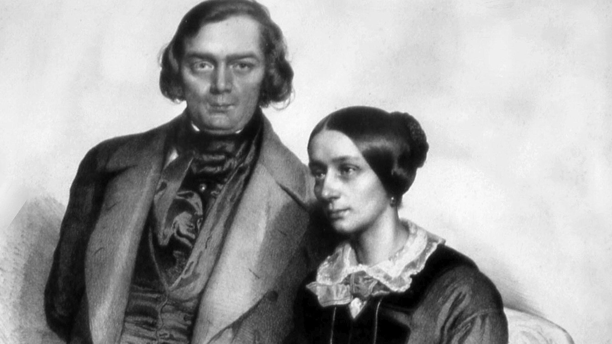 Clara och Robert Schumann