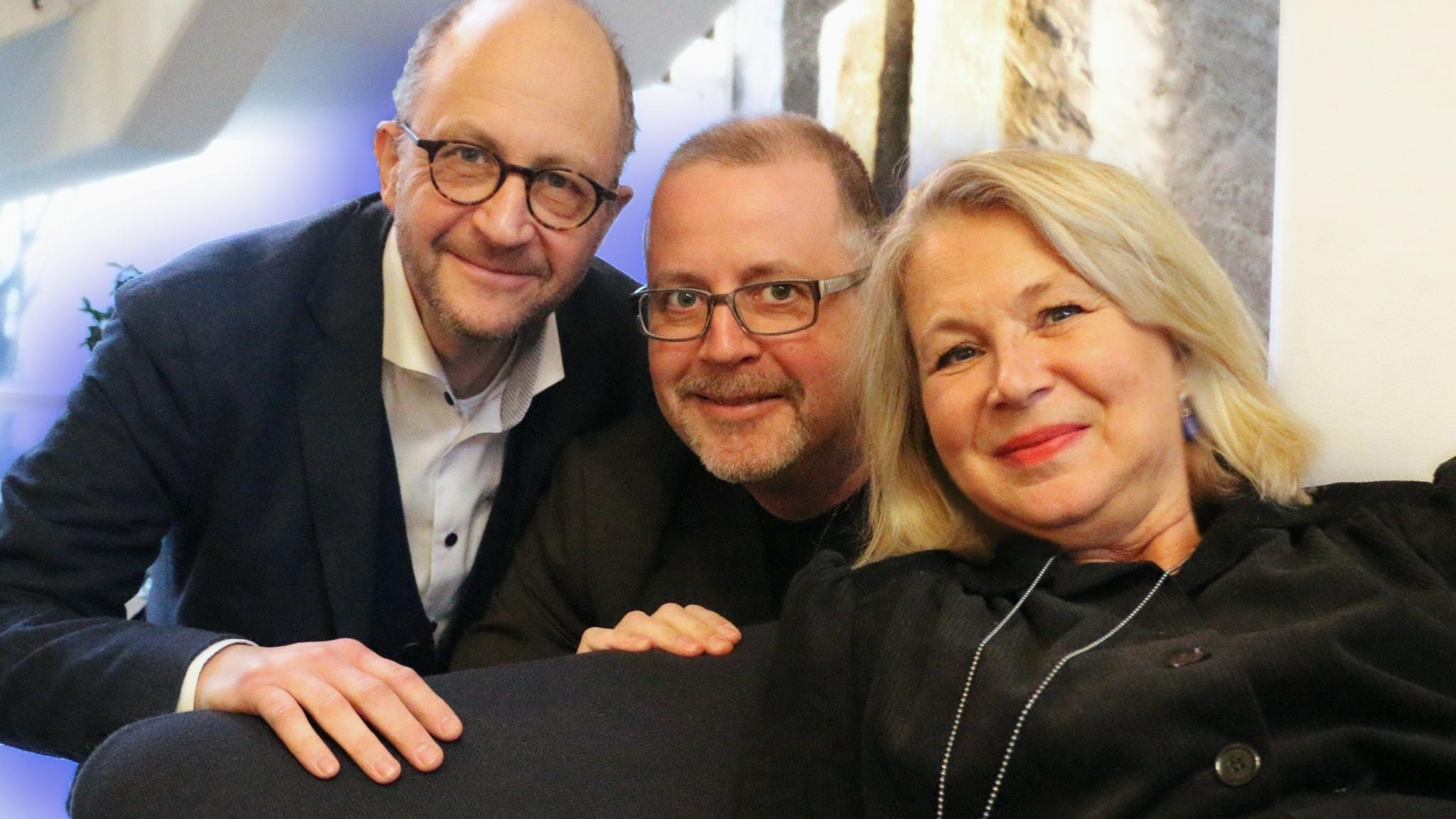 Jonathan Lindström, Helena von Zweigbergk och Per Naroskin
