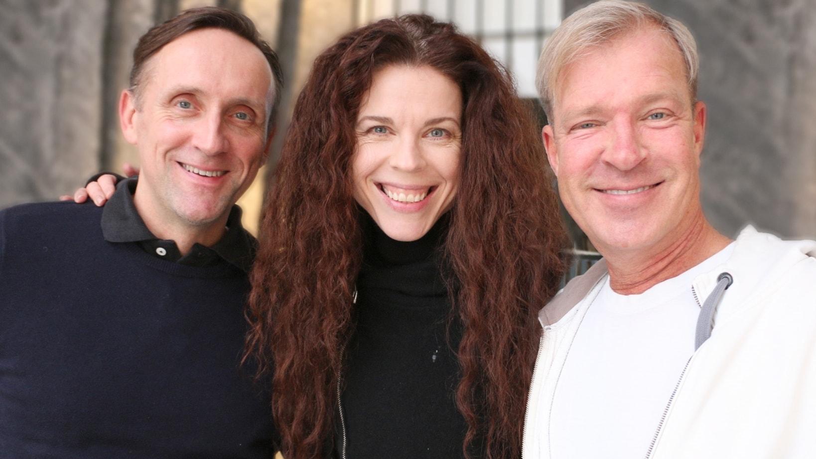 Göran Everdahl, Jessika Gedin och Calle Norlén,