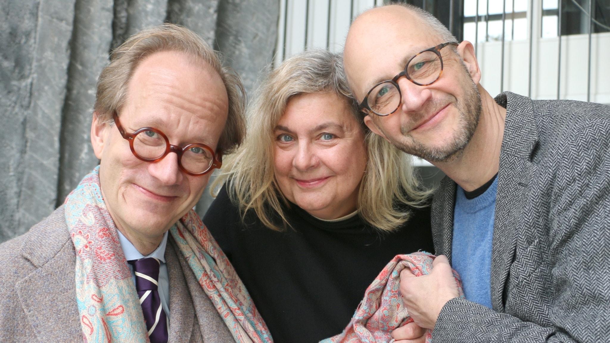 Johan Hakelius, Annika Sundberg och Per Naroskin är veckans spanare