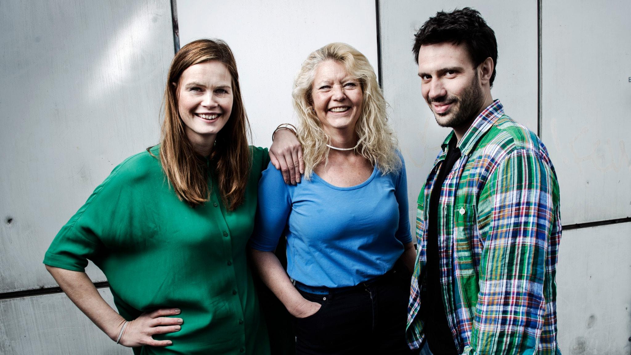 Med Jenny Goldkuhl och Dejan Cokorilo