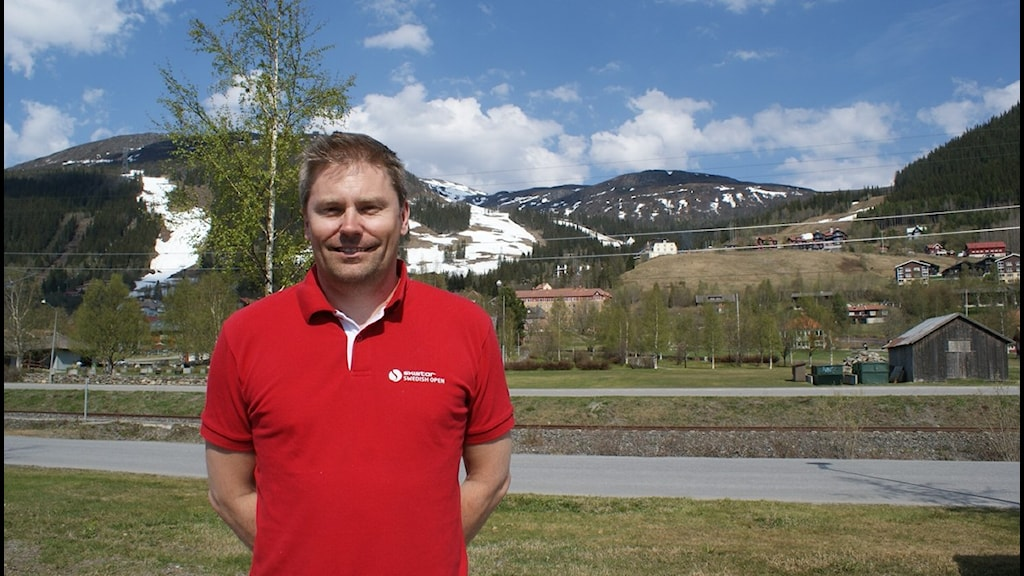 Niclas Sjögren Berg, platschef Skistar Åre