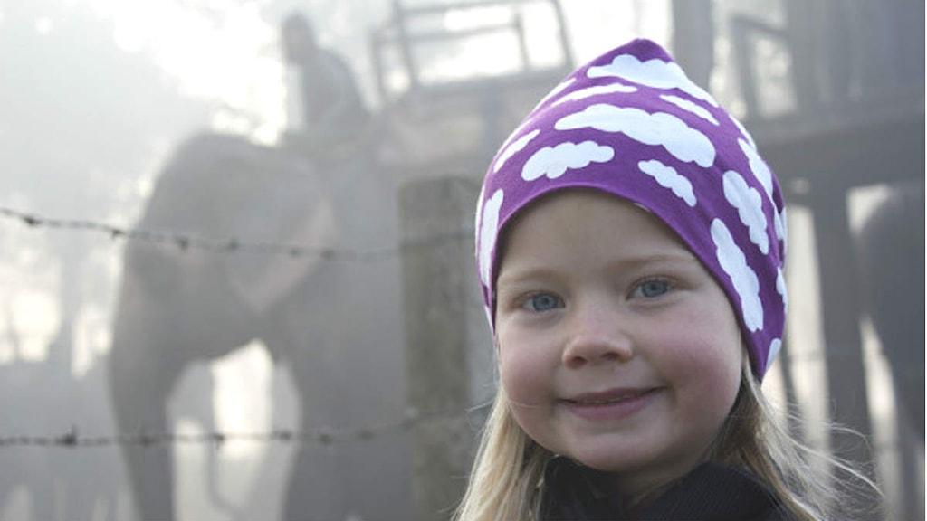 Jonna Thiessen på utflykt. Foto: Preston Thiessen