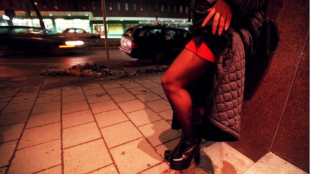 En ny studie visar att flera kvinnliga interner har erfarenhet av prostitution. Foto: Tomas Oneborg/Scanpix.