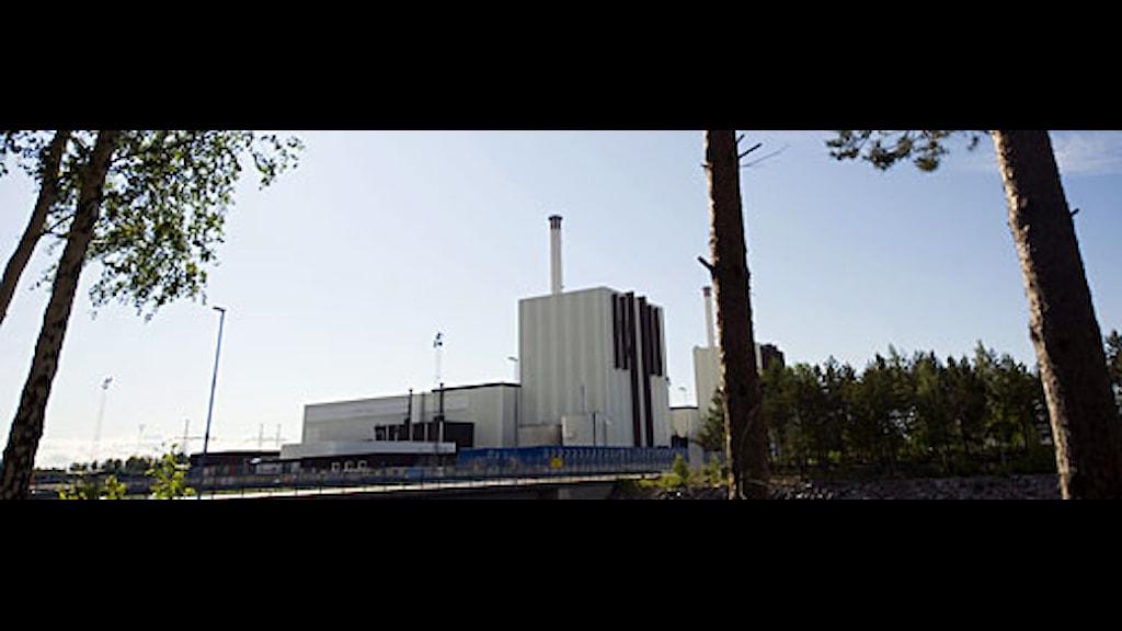 Forsmarks kärnkraftverk. Foto: Fredrik Sandberg/Ekot.