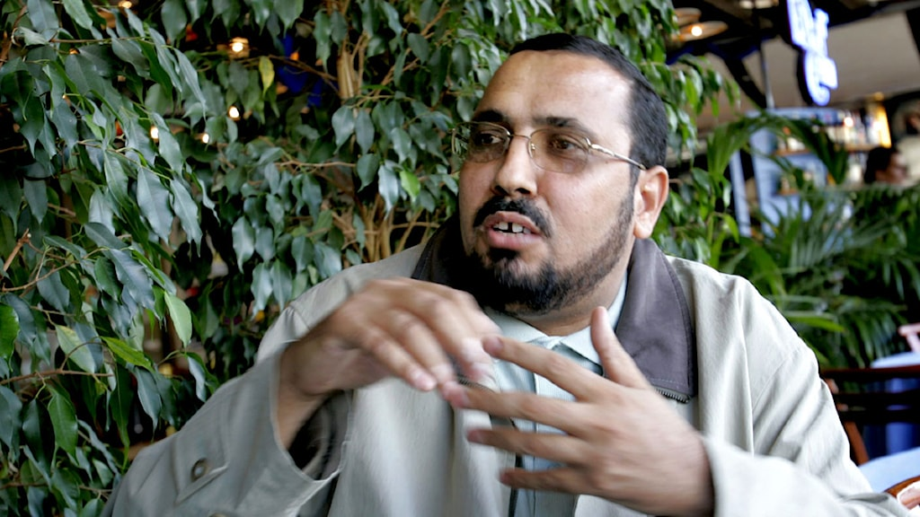 Hassan Moussa, imam i Stockholms stora moské. Foto: Henrik Montgomery/Scanpix