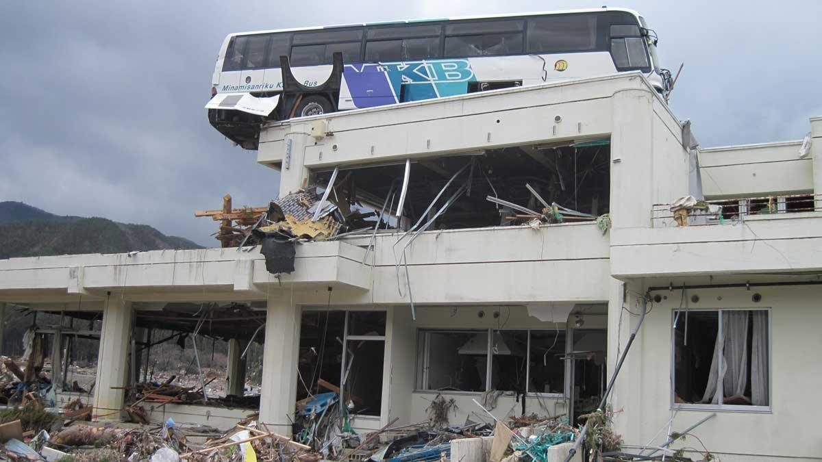 buss på tak