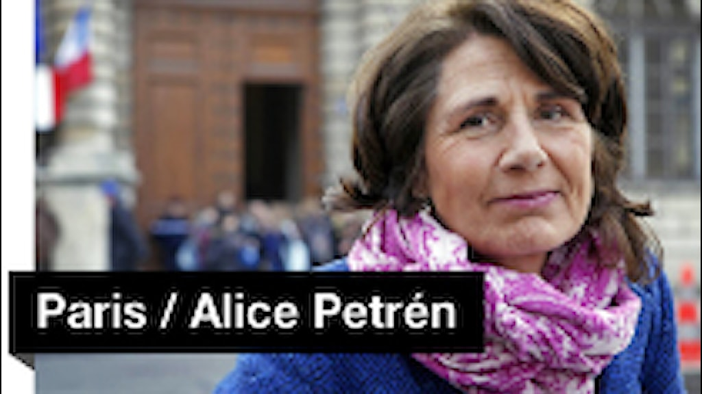 Paris. Alice Petrén. Foto: Sveriges Radio