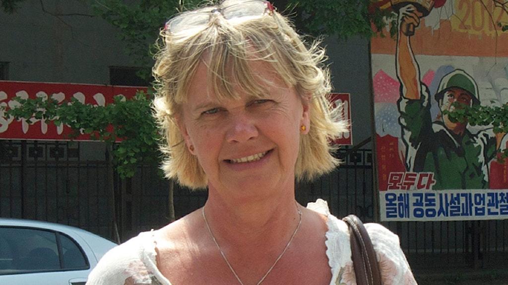 Margita Boström. Foto: Sveriges Radio.