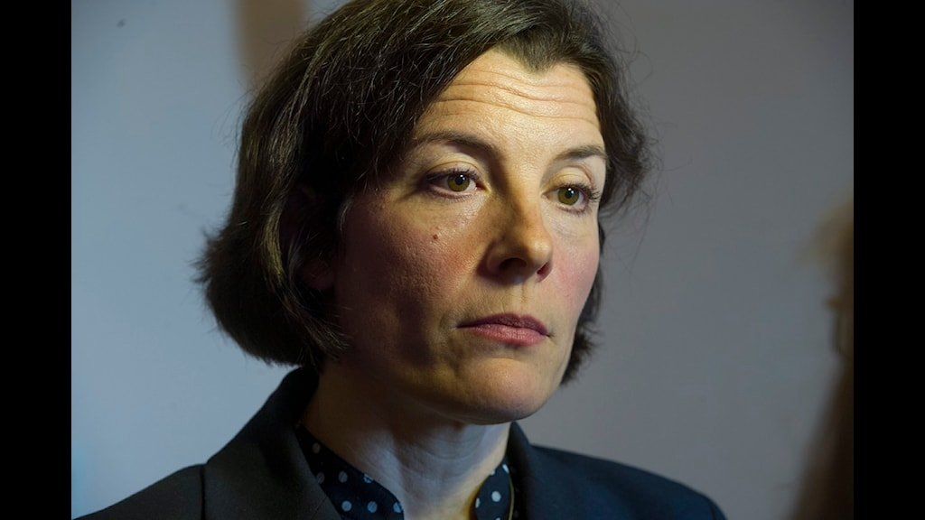 Försvarsminister Karin Enström. Foto: Leif R Jansson/Scanpix