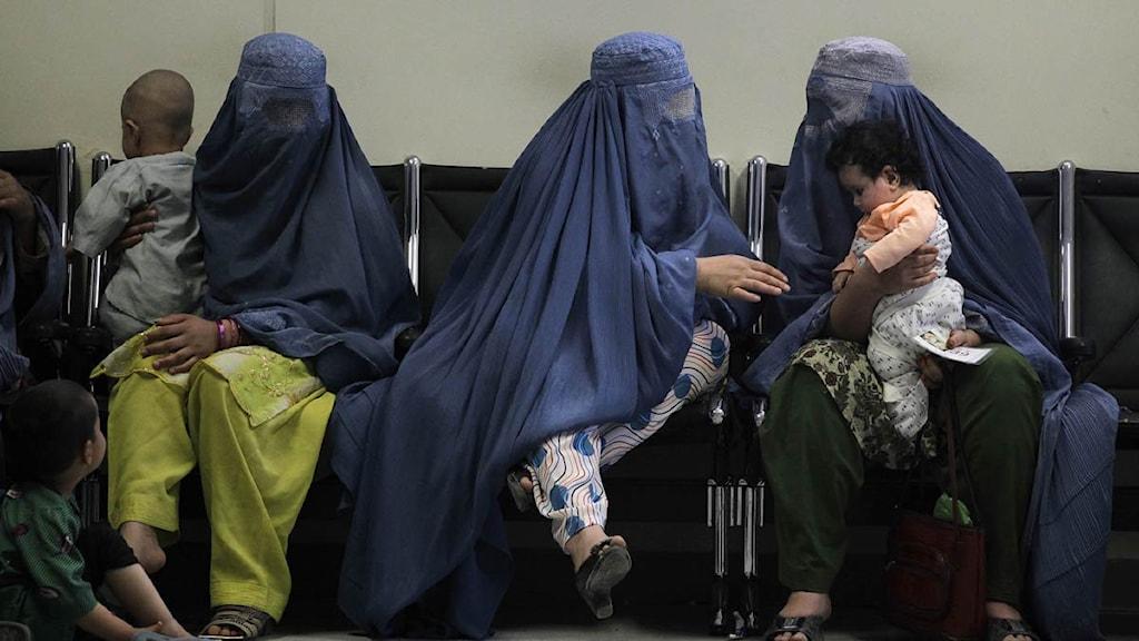 Afghanska kvinnor. Foto: Scanpix