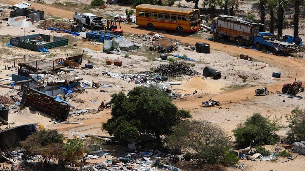 Många i nordöstra Sri Lanka tvingades fly under slutfasen av inbördeskriget. Foto: Kirsty Wigglesworth/AP