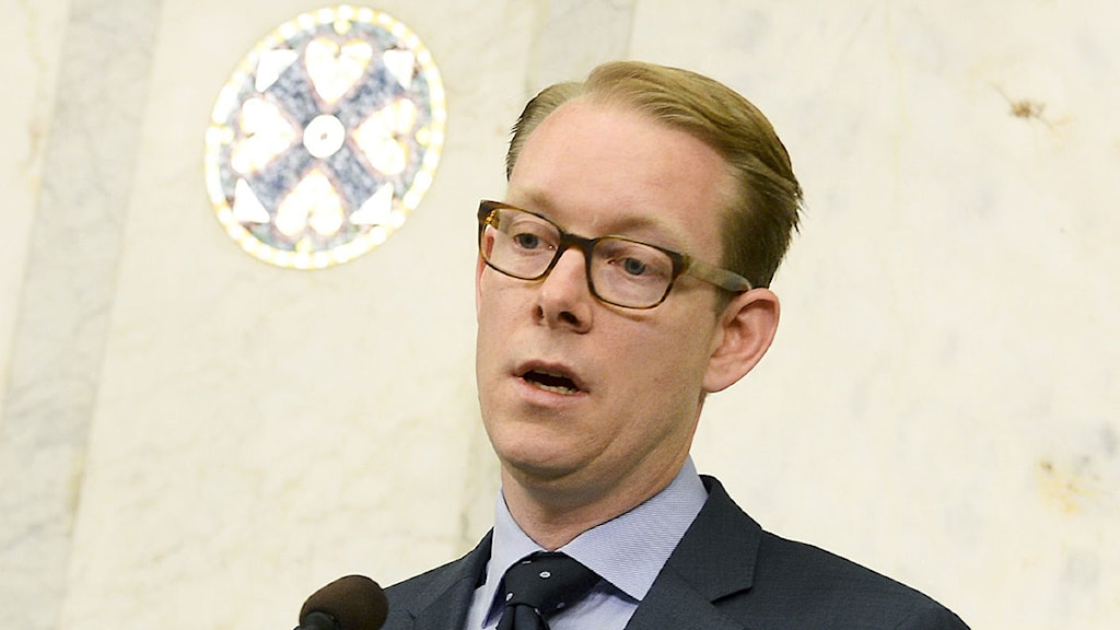 Tobias Billström, migrationsminister. Foto: Pontus Lundahl/Scanpix.