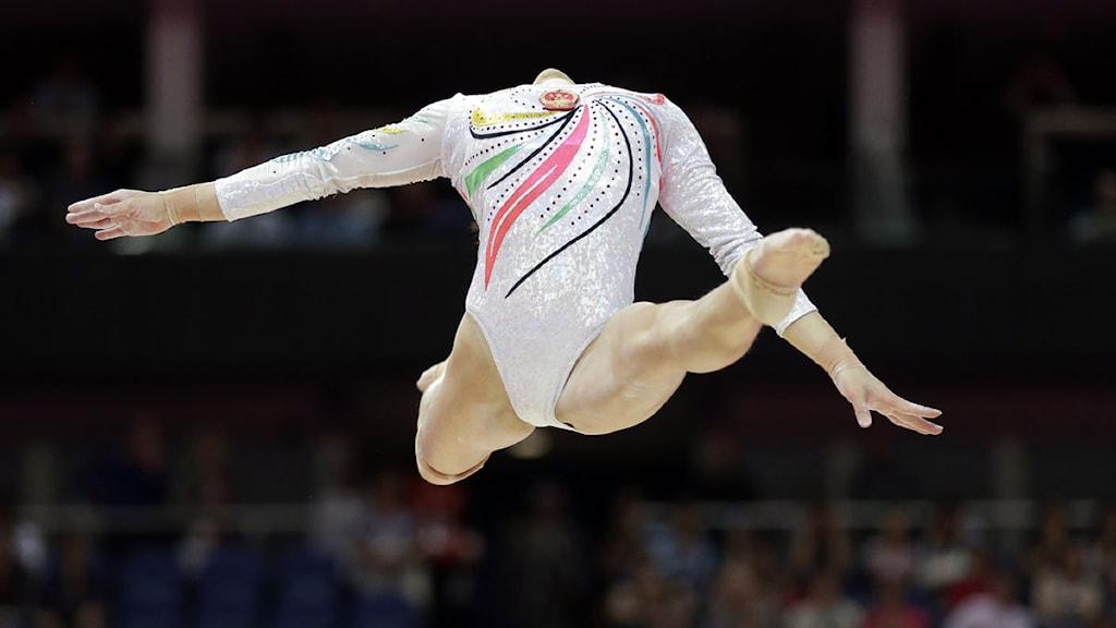 Gymnast. Foto: Scanpix